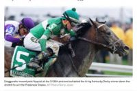Exaggerator wins Preakness Stakes!