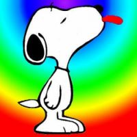 Color Snoopy