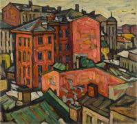 Abraham Manievich (Russian-American, 1881–1942), Moscow