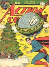 "ACTION COMICS #93--""Christmas 'Round the World !"""
