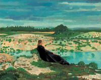 Derwent Lees (British, born Australia, 1885–1931), Lyndra by the Blue Pool, Dorset (1913)