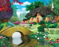 Storybook Cottage by Vivienne Chanelle