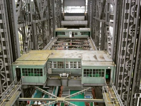 The Niederfinow Ship Lift, Germany