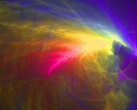 rainbow space fractal