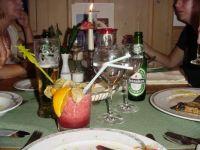 Last dinner in Germany before flying home