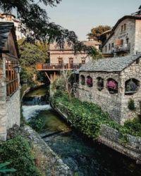 Mostar, Bosnia And Herzegovina.  6042