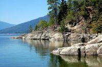 along the shores of Kootenay Lake