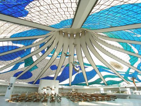 Oscar Niemeyer - 1907-2012 - Cathedral 2