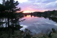 Sunset near Hellvik - Norway