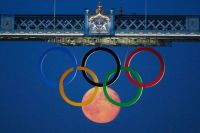 Olympic full moon