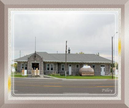 Railroad Depot ~ Potato Museum