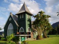 Wai'oli Hui'ia Church on Kauai