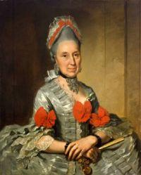 Anton Wilhelm Tischbein  Bildnis der Frau Anna Maria Sondershausen von Gläsernthal circa 1780