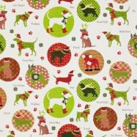 Cute gift wrap...lots of dogs at Christmas