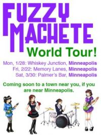 Fuzzy Machete World Tour