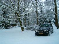 Veel sneeuw