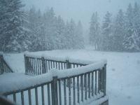 Snow in MN April 6, 2013