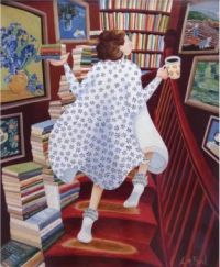 """A Fun Solve, """"So Many Books So Little Time"""" By Artist Lucy Abey Bird"""