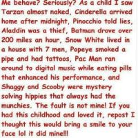 Me behave... seriously???!!!