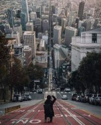 A perspective Of San Francisco, USA