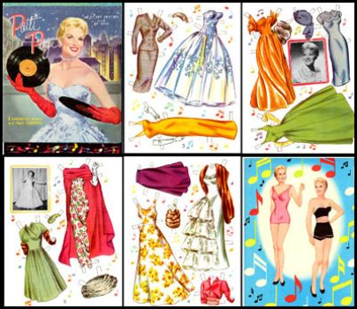 Patti Page paper doll