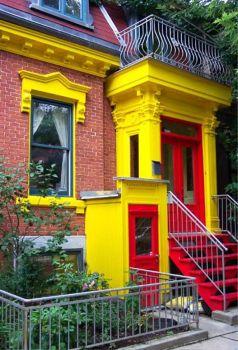 A Vividly Colourful House