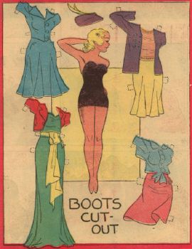Paper Doll  ~  1946