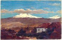 Mount Chimborazo Shown From Riobamba, Ecuador, 1857, Frederic Edwin Church