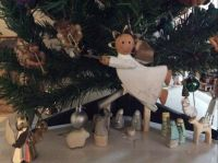 Nativity under my Christmas tree