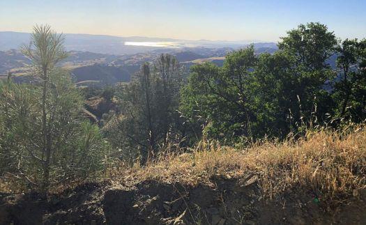 San Jose from Mt Wilson, California