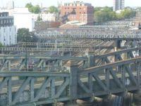 Bridges over the railway at Paddington