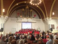 1288 Black Gospel Choir Miracles in de Opstandingskerk Woerden NL