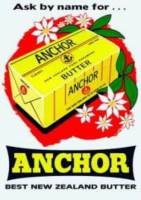 VIntage ad _Anchor Butter