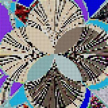 Tapestry Canvas Kaleido
