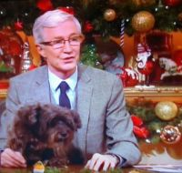 Paul O'Grady and Buster