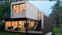 This beautiful Home is made out of Shipping Containers
