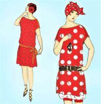 Themes Vintage illustrations/pictures - 1920s Uncut Bathing Suit Vintage Sewing Pattern