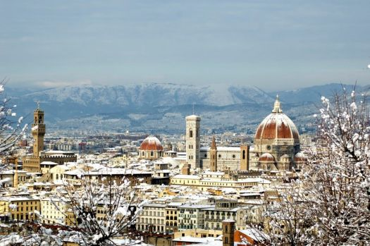 An Italian Winter - Firenze in the Snow