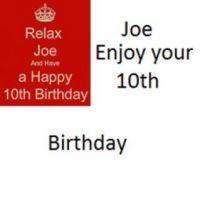 For Joe Lemming
