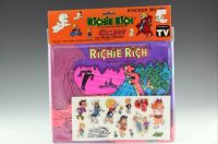 Richie Rich haunted mine sticker board