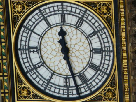 Clock, Houses of Parliament