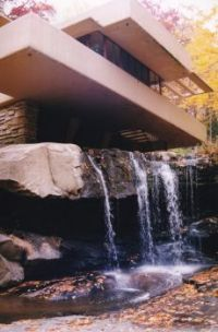 Frank Lloyd Wright's Falling Waters Bottom Balcony