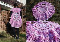 růžová vesta