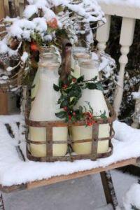 Rusty Milk Bottle Carrier