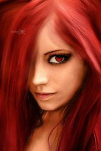 Digital Art Ruby muse, by Voraevich (Large)