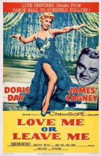 LOVE ME OR LEAVE ME - 1955 POSTER - DORIS DAY, JAMES CAGNEY
