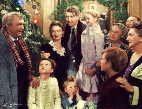 Its A Wonderful Life 1946 Colorized