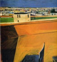 Yellow Porch - Richard Diebenkorn