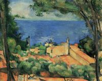 Paul Cézanne: L'Estaque aux toits rouges (1883-1885)