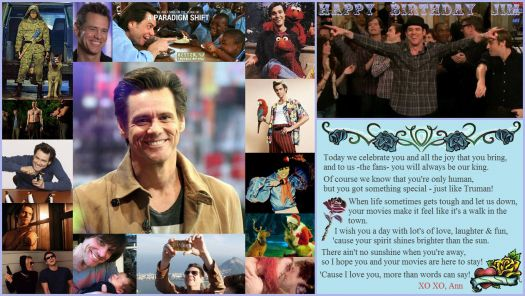 Happy Birthday Jim Carrey
